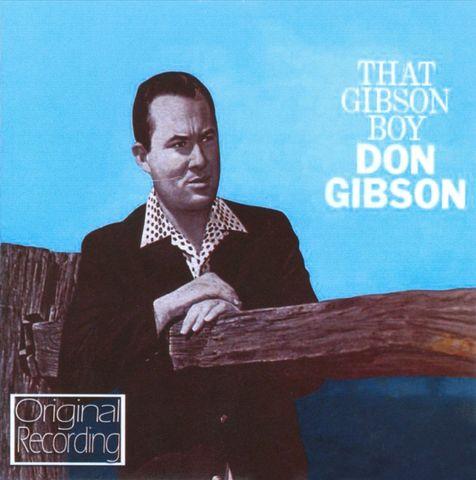 Don gibson - hurtin inside