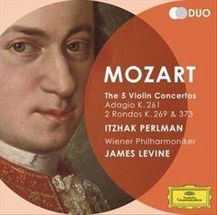 James Levine - Mozart: Violin Concertos