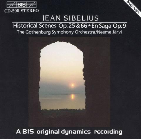 Neeme Järvi - Jean Sibelius: Historical Scenes, Op. 25 & 66; En Saga, Op. 9