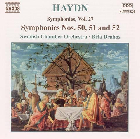 Haydn, J. - Haydn: Symphonies Nos. 50, 51 and 52
