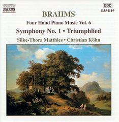 Brahms, J. - Brahms: Symphony No. 1; Triumphlied