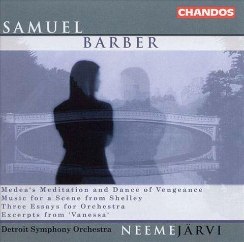 Neeme Järvi - Samuel Barber