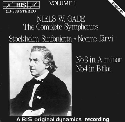 Neeme Järvi - Niels W. Gade: The Complete Symphonies, Vol. 1