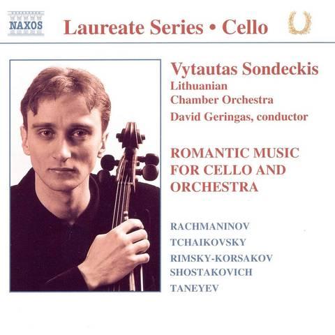Vytautas Sondeckis - Romantic Music for Cello & Orchestra