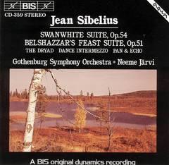 Neeme Järvi - Jean Sibelius: Swanwhite Suite, Op. 54; Belshazzar's Feast Suite, Op. 51