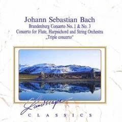 Bach, J.S. - Bach: Brandenburg Concertos Nos. 1 & 3; Triple Concerto