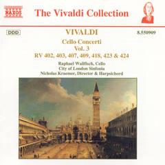 Raphael Wallfisch - Vivaldi: Cello Concerti, Vol. 3