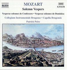 Mozart, W.A. - Mozart:Solemn Vespers/Dixit & Magnificat