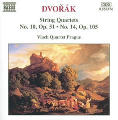 Vlach Quartet Prague - Dvorák: String Quartets No. 10, Op. 51; No. 14, Op. 105