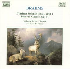 Kalman Berkes - Brahms: Clarinet Sonatas Nos. 1 & 2