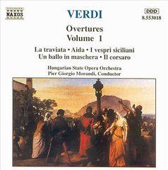 Verdi, G. - Verdi: Overtures, Vol. 1