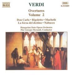 Pier Giorgio Morandi - Verdi: Overtures, Vol. 2