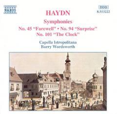 Capella Istropolitana - Haydn: Symphonies Nos. 45, 94 & 101