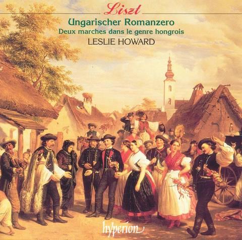 Leslie Howard - Liszt: Ungarischer Romanzero; Deux Marches dans le Genre Hongrois