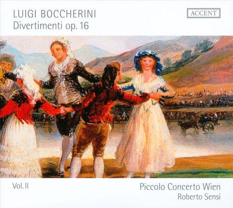 Piccolo Concerto Wien - Boccherini: Divertimenti, Vol. 2