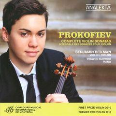 Benjamin Beilman - Prokofiev: Complete Violin Sonatas