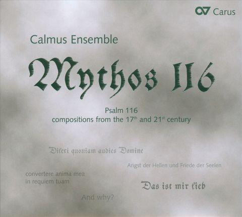 Calmus Ensemble - Mythos 116