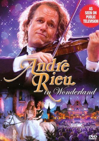 André Rieu - André Rieu im Wunderland [DVD]