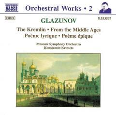 Konstantin Krimets - Glazunov: Orchestral Works, Vol. 2