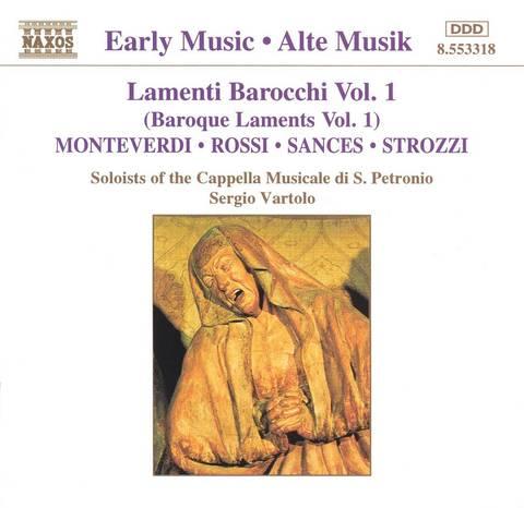 Sergio Vartolo - Lamenti Barocchi Vol. 1