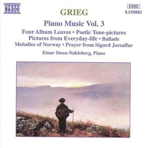 Einar Steen-Nökleberg - Grieg: Piano Music, Vol. 3