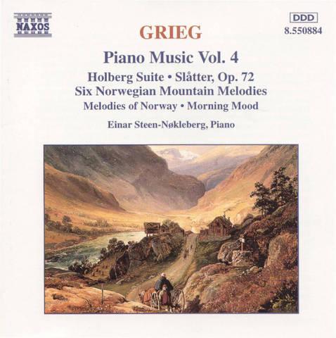Einar Steen-Nökleberg - Grieg: Piano Music, Vol. 4