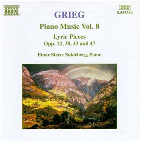 Einar Steen-Nökleberg - Grieg: Piano Music, Vol. 8