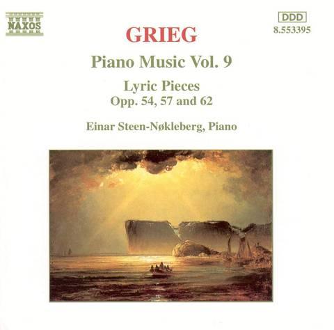 Einar Steen-Nökleberg - Grieg: Piano Music, Vol. 9