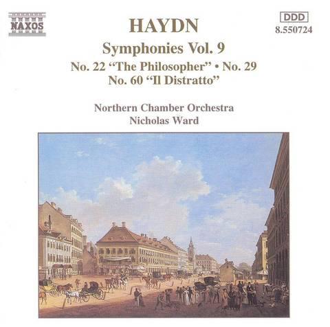 Nicholas Ward - Haydn: Symphonies Nos. 22, 29 & 60