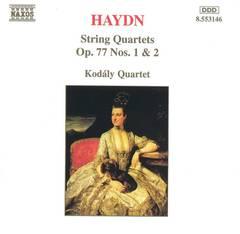 Kodály Quartet - Haydn: String Quartets, Op. 77, Nos. 1 & 2