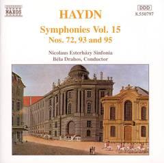 Haydn, J. - Haydn: Symphonies Nos. 72, 93 & 95