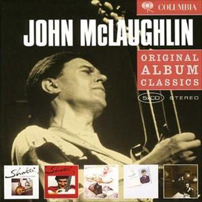 John McLaughlin - Shakti/A Handful of Beauty/Natural Elements/Electric Guitarist/Electric Dreams