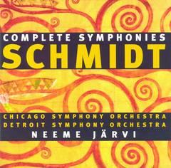 Neeme Järvi - Franz Schmidt: Symphonies Nos. 1-4