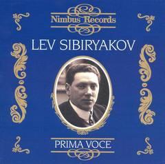 Lev Sibiriakov - Prima Voce: Lev Sibiryakov