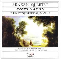Prazák Quartet - Haydn: Erdödy Quartets, Op.76 Vol.2