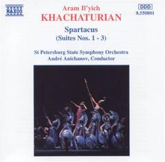 Khachaturian, A. - Khachaturian: Spartacus (Suites Nos. 1-3)