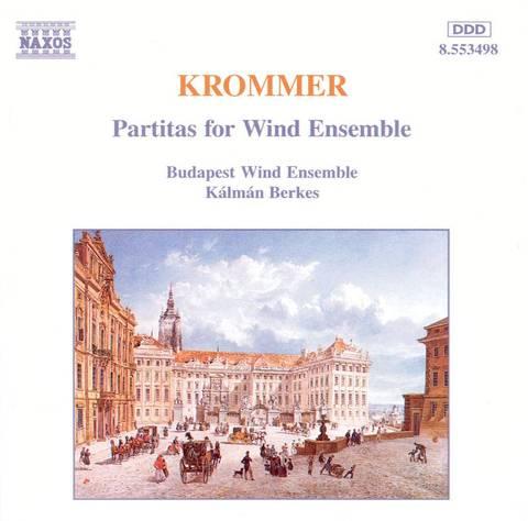 Krommer, F.V. - Krommer: Partitas for Wind Ensemble