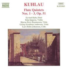 Kuhlau, F. - Kuhlau: Flute Quintets Nos. 1-3, Op. 51