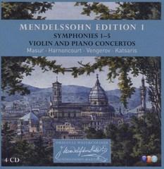 Nikolaus Harnoncourt - Mendelssohn Edition, Vol. 1: Symphonies 1-5; Violin and Piano Concertos