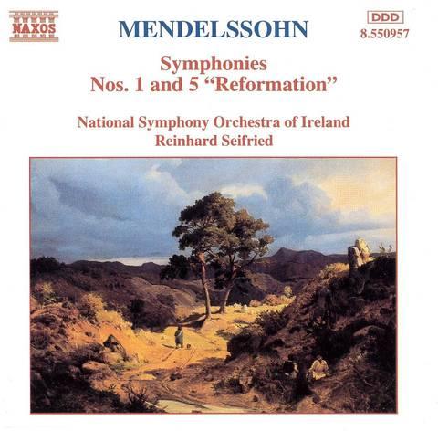 National Symphony Orchestra of Ireland - Mendelssohn: Symphonies Nos. 1 & 5
