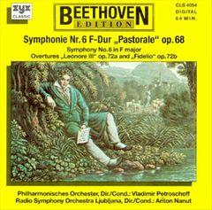 "Beethoven, L. Van - Beethoven: Symphony No. 6 ""Pastorale""; Leonore Overture No. 3; Fidelio Overture"