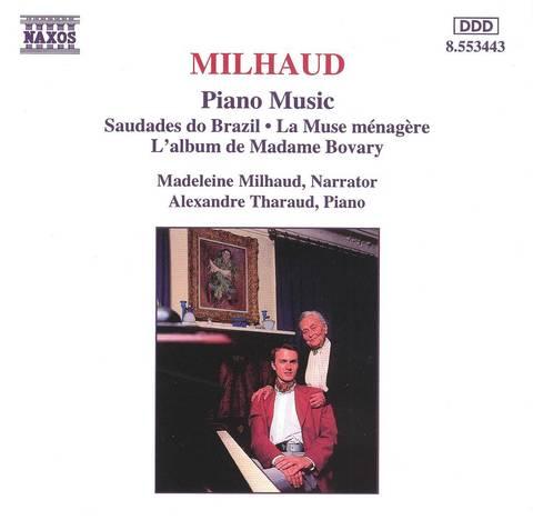 Madeleine Milhaud - Milhaud: Piano Music