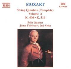 Eder Quartet - Mozart: String Quintets (Complete), Vol. 2