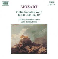 Takako Nishizaki - Mozart: Violin Sonatas, Vol. 1