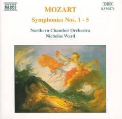 Nicholas Ward - Mozart: Symphonies Nos. 1-5