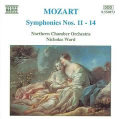 Nicholas Ward - Mozart: Symphonies 11-14