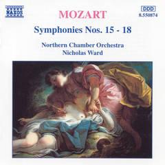 Nicholas Ward - Mozart: Symphonies Nos. 15-18