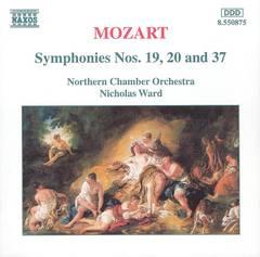 Nicholas Ward - Mozart: Symphonies Nos. 19, 20 & 37