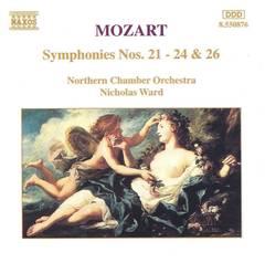 Nicholas Ward - Mozart: Symphonies Nos. 21-24 & 26