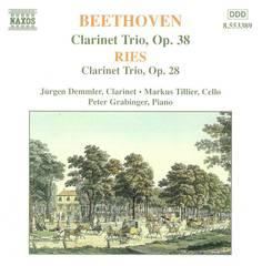 Beethoven/Ries - Beethoven: Clarinet Trio Op. 38; Ferdinand Ries: Clarinet Trio Op. 28